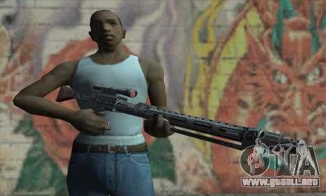Rifle de francotirador de Star Wars para GTA San Andreas tercera pantalla