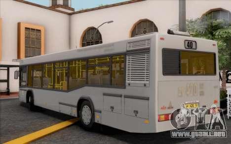 Samotlor-NN-5295 (MAZ 103.075) para GTA San Andreas left