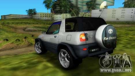 Toyota RAV 4 L 94 Fun Cruiser para GTA Vice City vista superior