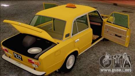 VAZ 21011 de Taxi para las ruedas de GTA San Andreas