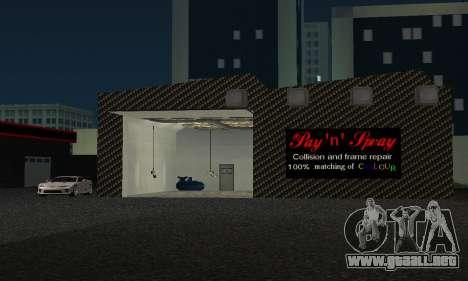 Nuevo showroom en cabello para GTA San Andreas