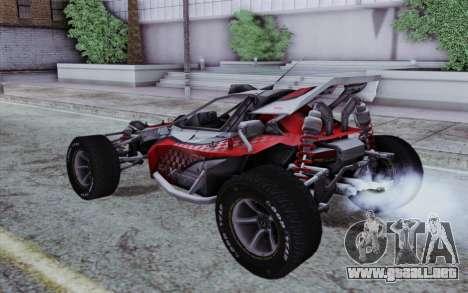 XCelerator Buggy XL para GTA San Andreas left