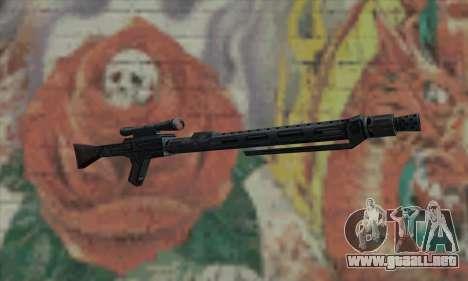 Rifle de francotirador de Star Wars para GTA San Andreas
