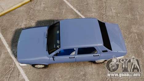 Renault 12 Toros v2.0 para GTA 4 visión correcta