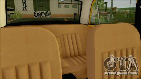 VAZ 21011 de Taxi para la vista superior GTA San Andreas