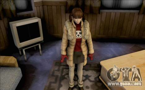 Lei de Dead or Alive 5 para GTA San Andreas segunda pantalla