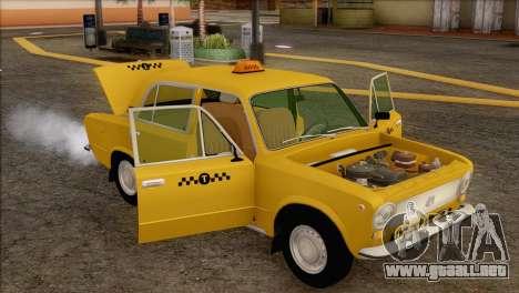 VAZ 21011 de Taxi para GTA San Andreas interior