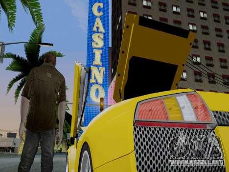 Clay Kaczmarek ACR para GTA San Andreas segunda pantalla