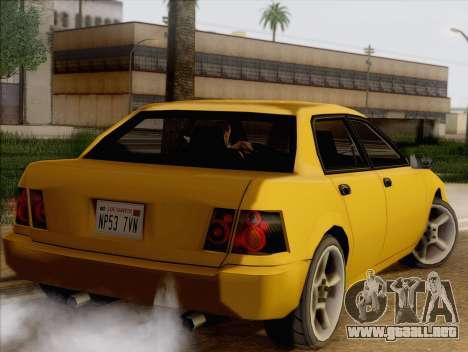 Stratum Sedan Sport para GTA San Andreas left