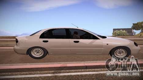 Daewoo Lanos para GTA San Andreas left