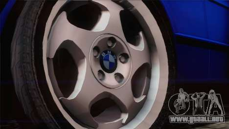 BMW 535i E34 Mafia Style para la visión correcta GTA San Andreas