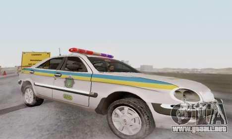 GAS-3111 Miliciâ Ucrania para GTA San Andreas left