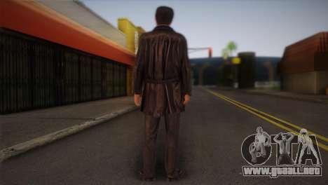 Max Payne Skin para GTA San Andreas segunda pantalla