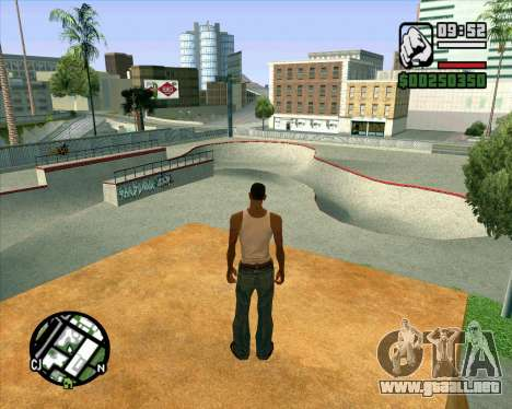 Nuevo HD Skate Park para GTA San Andreas