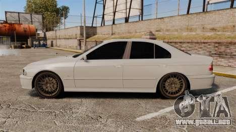 BMW 525i (E39) para GTA 4 left