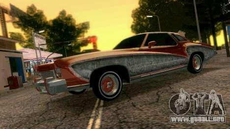 Chevy Monte Carlo Lowrider para GTA Vice City left