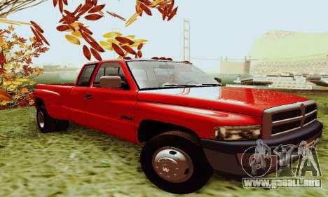 Dodge Ram 3500 para GTA San Andreas left