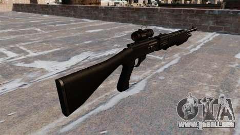Táctica escopeta Franchi SPAS-12 para GTA 4 segundos de pantalla