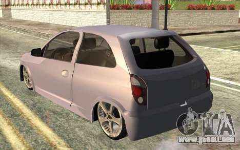 Chevrolet Celta 2010 para GTA San Andreas left