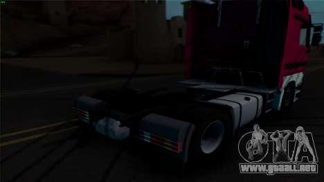 Mercedes-Benz 1840 para visión interna GTA San Andreas
