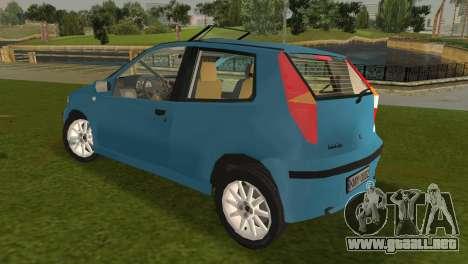 Fiat Punto II para GTA Vice City vista lateral izquierdo