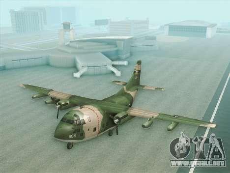 Fairchild C-123 Provider para GTA San Andreas