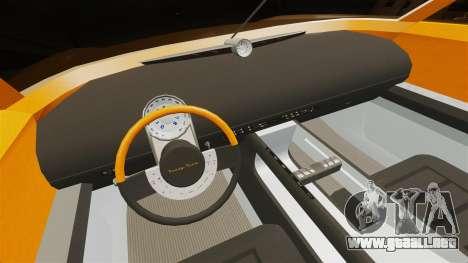 Ford Forty Nine Concept 2001 para GTA 4 vista superior