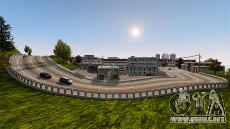 La ciudad sin nombre para GTA 4 sexto de pantalla