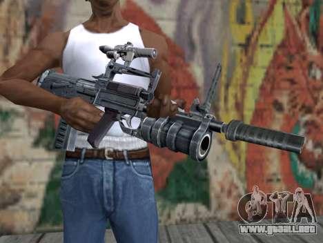 Rifle de S.T.A.L.K.E.R. para GTA San Andreas tercera pantalla