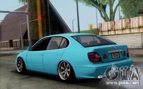 Toyota Aristo para GTA San Andreas left