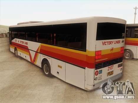 Man 14.220 (Santarosa Exfoh) - Victory Liner 210 para GTA San Andreas left