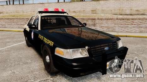Ford Crown Victoria 1999 Florida Highway Patrol para GTA 4
