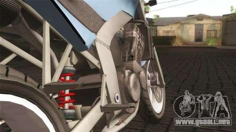Ducati FRC900 v3 para GTA San Andreas vista posterior izquierda