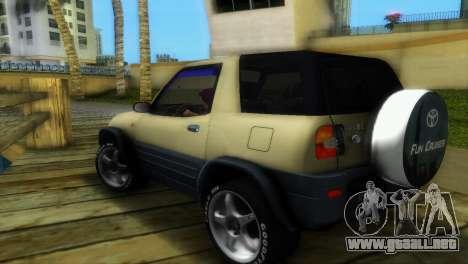 Toyota RAV 4 L 94 Fun Cruiser para GTA Vice City vista posterior