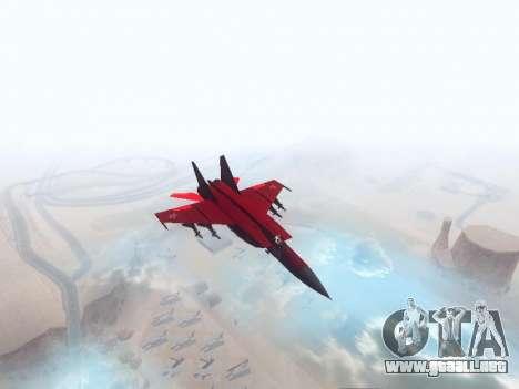MiG 25 para GTA San Andreas