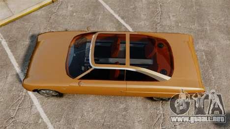 Ford Forty Nine Concept 2001 para GTA 4 visión correcta