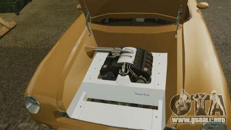 Ford Forty Nine Concept 2001 para GTA 4 vista interior
