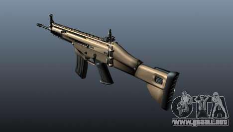 Rifle de asalto SCAR-L para GTA 4 segundos de pantalla