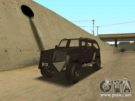 Ford Super Duty Armored para GTA San Andreas