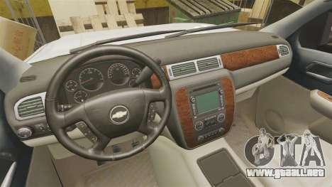 Chevrolet Silverado 1500 2010 para GTA 4 vista interior