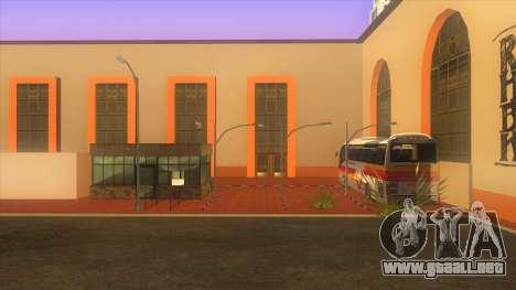 Estación de autobuses, Los Santos para GTA San Andreas segunda pantalla