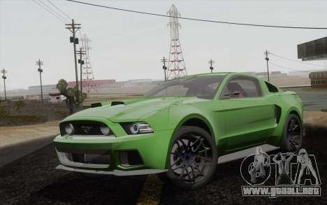 Ford Mustang GT 2013 para GTA San Andreas
