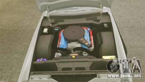 Cadillac Eldorado Coupe 1969 para GTA 4 vista interior