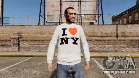 Suéter-Nueva York para GTA 4