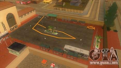 Estación de autobuses, Los Santos para GTA San Andreas séptima pantalla