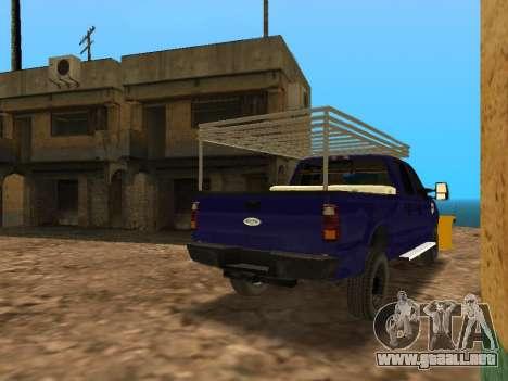 Ford F-250 para la visión correcta GTA San Andreas