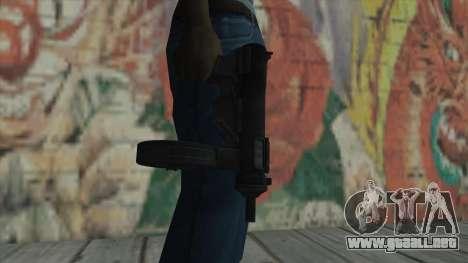MP5 de Fallout New Vegas para GTA San Andreas tercera pantalla