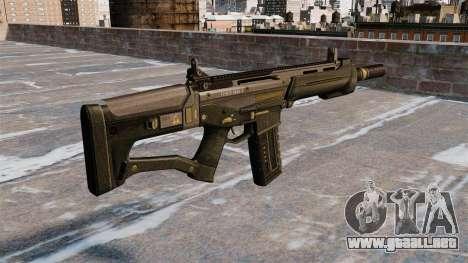 Rifle de asalto SCAR para GTA 4 segundos de pantalla