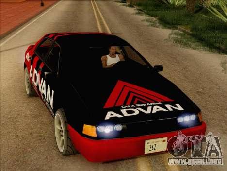 Stratum Sedan Sport para la visión correcta GTA San Andreas