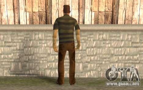 Hombre de la arena para GTA San Andreas segunda pantalla